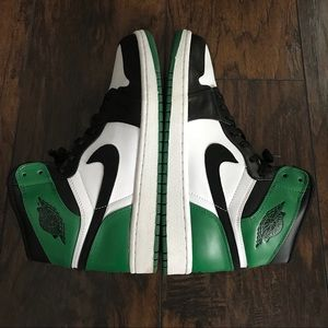 84ead8dd3dfa Jordan Shoes - Jordan Retro 1 9.5 DMP Pack Celtics 332550 101